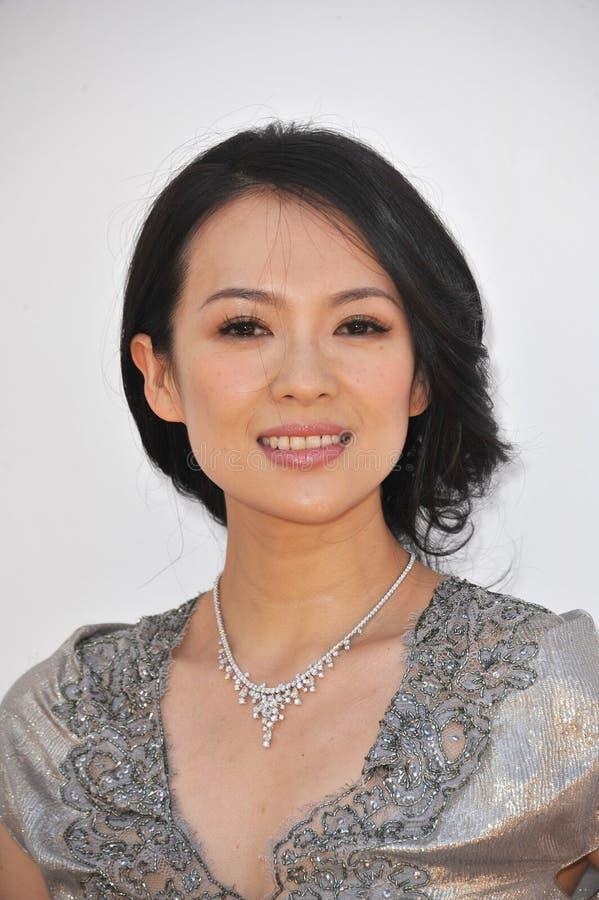 Zhang Ziyi, Zhang-Ziyi fotografía de archivo libre de regalías