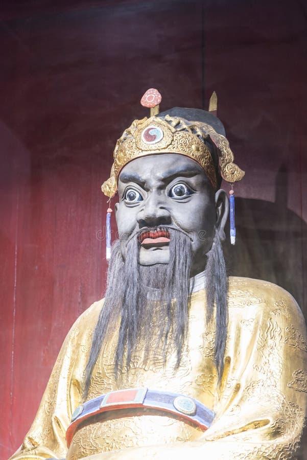 Zhangfei statue royalty free stock photos
