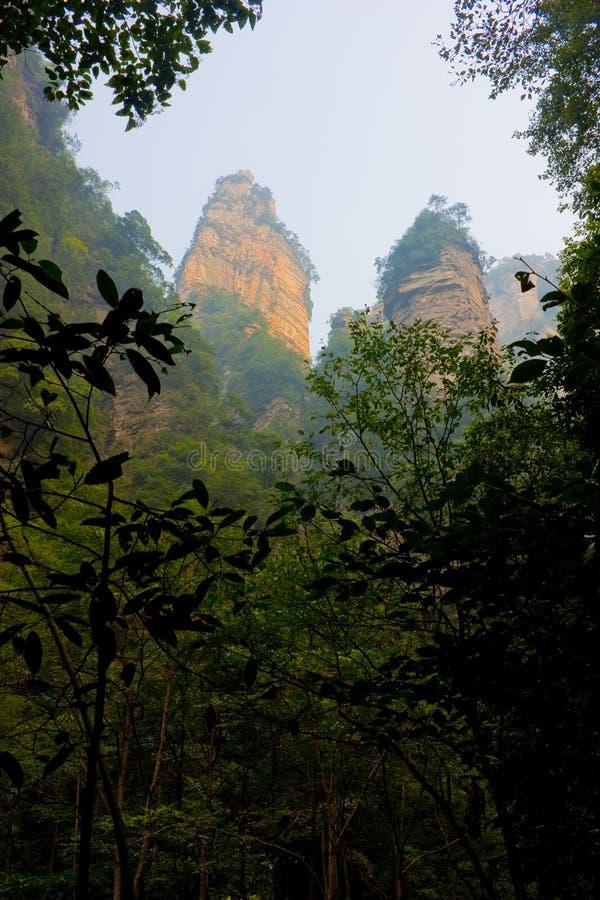 Zhangjiajie stockfoto