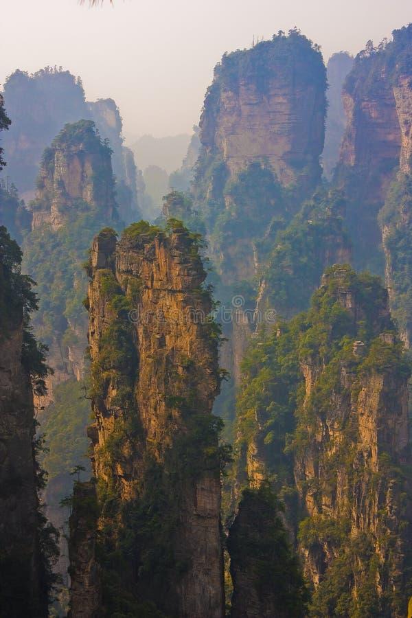 Zhangjiajie stockfotos