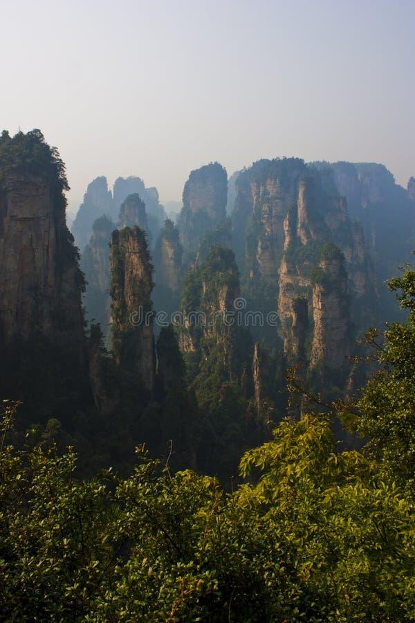 Zhangjiajie royalty free stock images