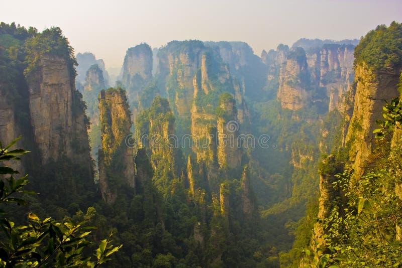 Zhangjiajie lizenzfreie stockfotografie