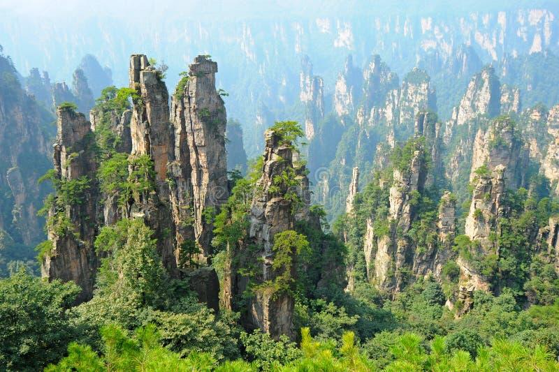 Zhangjiajie stock images