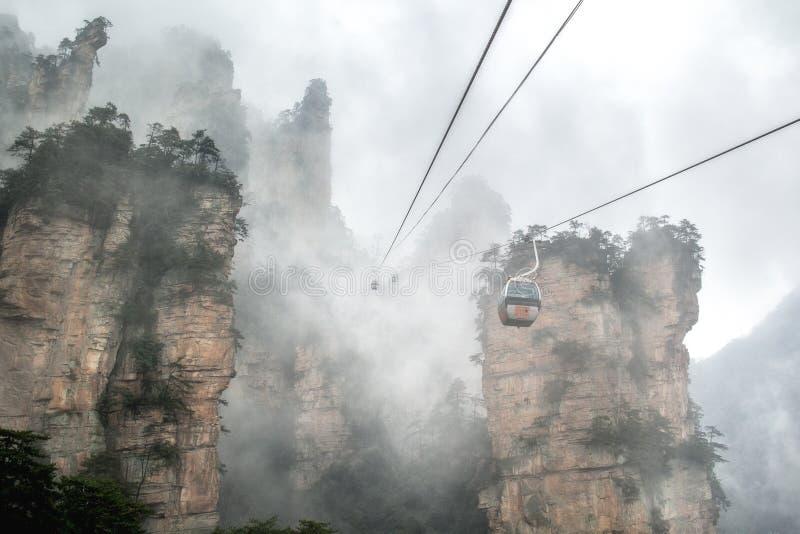 Zhangjiajie immagine stock libera da diritti