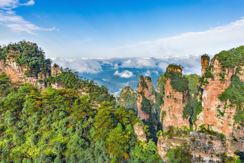 Zhangjiajie Forest Park image libre de droits