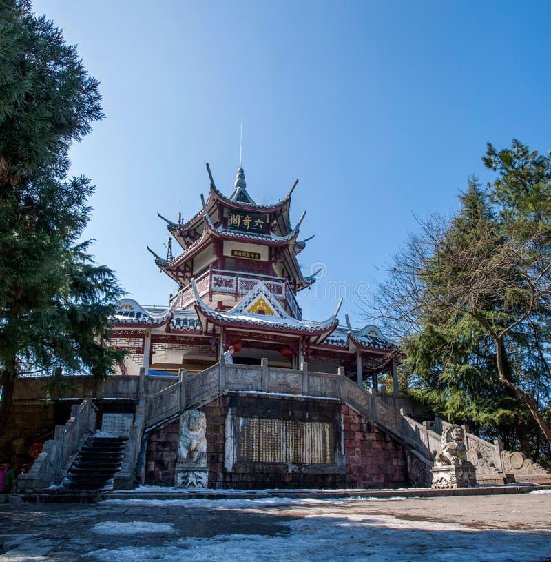 Zhangjiajie Forest Park nacional, Huangshizhai, Hunan, China imágenes de archivo libres de regalías