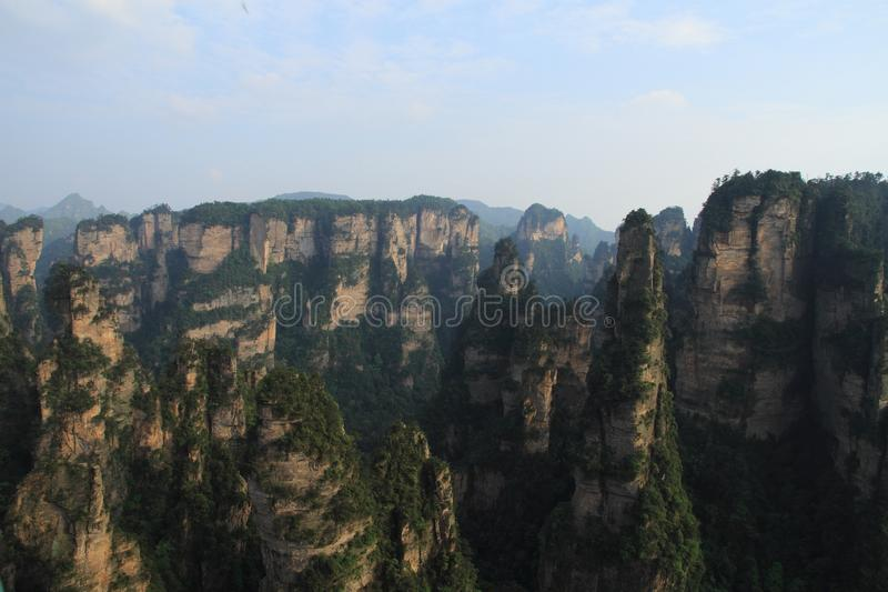 Zhangjiajie góry zdjęcia stock
