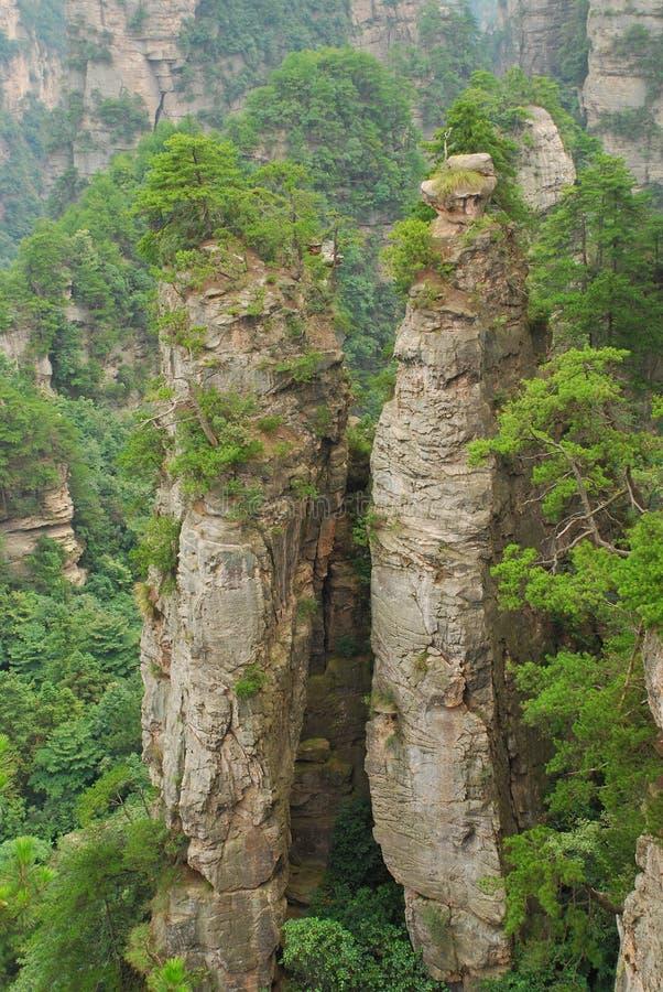 Download Zhangjiajie mountain stock image. Image of tianzishan - 36130865