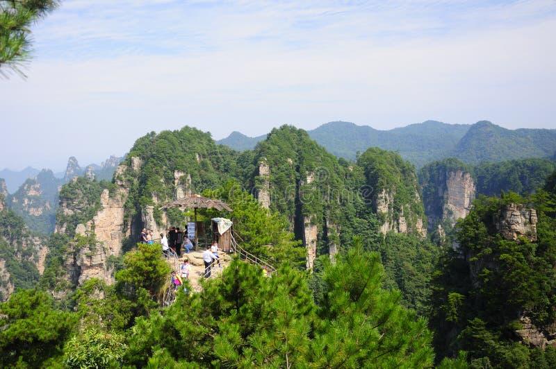 Mountains Of Tian Mu Shan Town China Stock Photo - Image ...