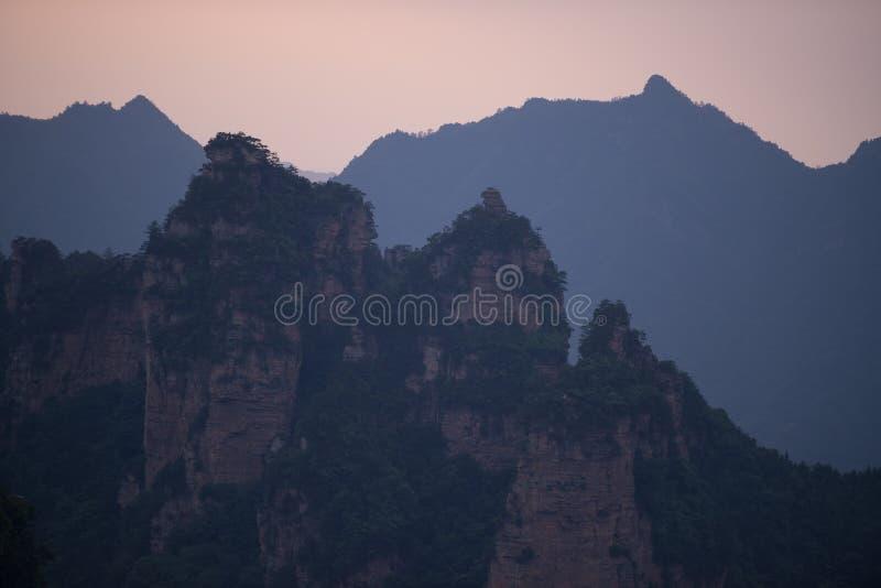 Zhangjiajie nationaler Forest Park, China stockbilder