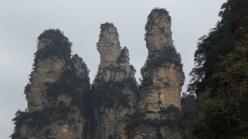 Zhangjiajie-Naturlandschaft lizenzfreies stockfoto