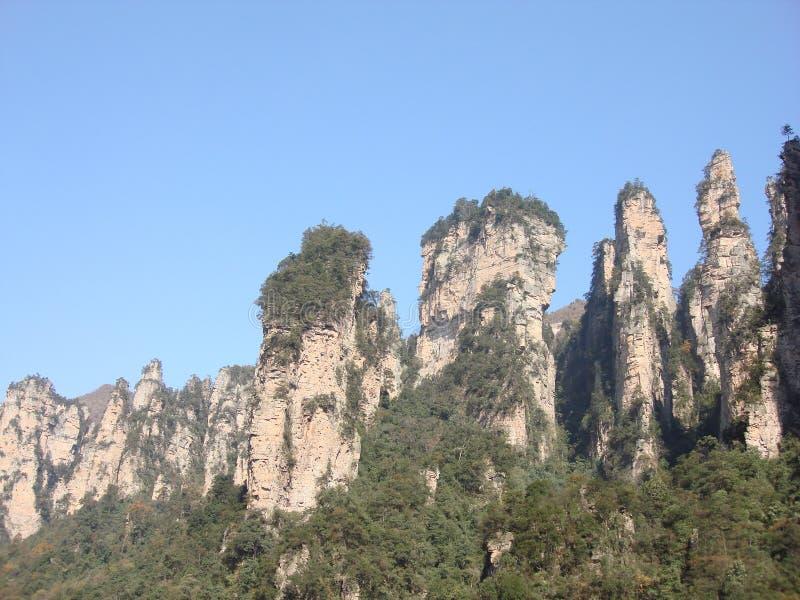 Zhangjiajie5 stock foto's