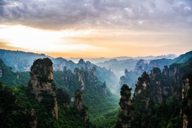 Zhangjiejia royalty free stock photography