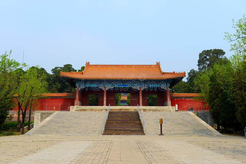 Zhao Ling Ming Tombs fotografia de stock royalty free