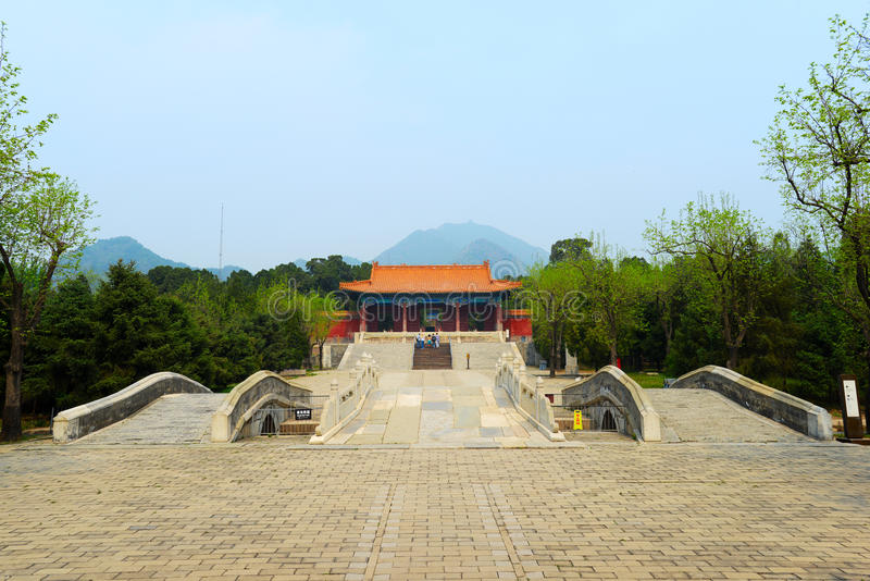 Zhao Ling Ming Tombs royalty free stock images