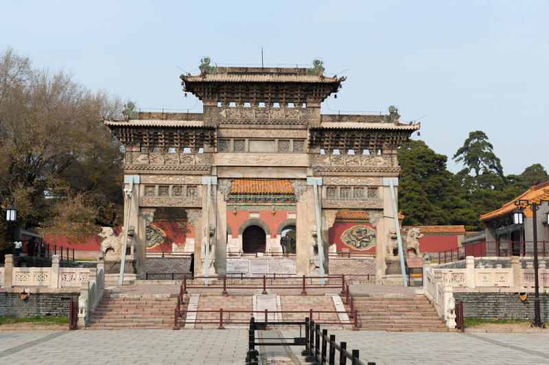 ZhaoLing Tomb royalty free stock images