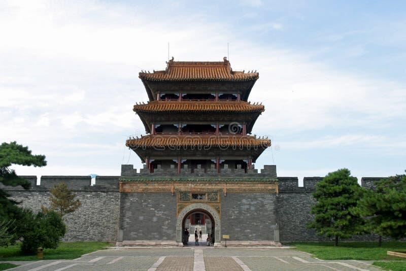 ZhaoLing Tomb royaltyfri foto