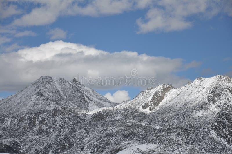 Zhe-duo snow mountain