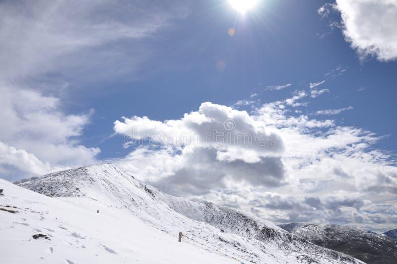 Download Zhe-duo snow mountain stock image. Image of peak, zheduo - 26653051