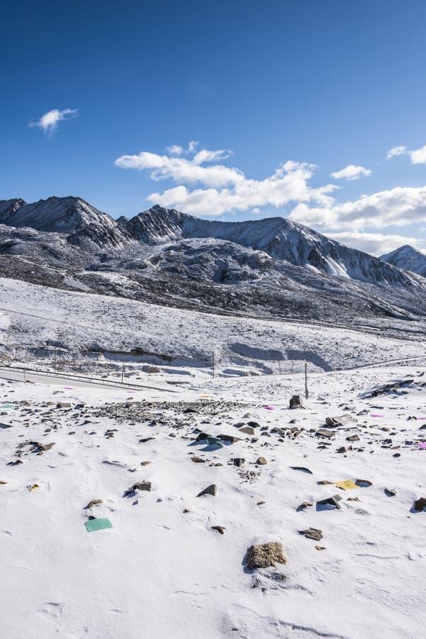 Zheduo góry sceneria zdjęcia royalty free