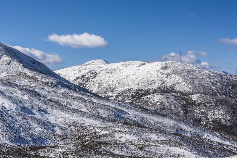 Zheduo góry sceneria obrazy stock