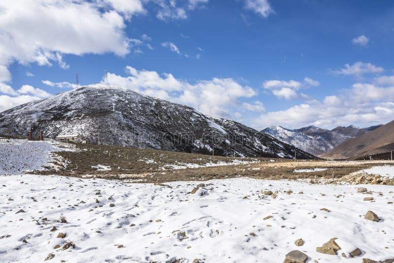 Zheduo góry sceneria fotografia stock