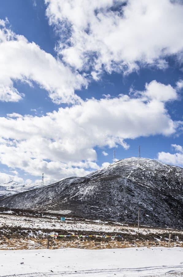 Zheduo góry sceneria obrazy royalty free