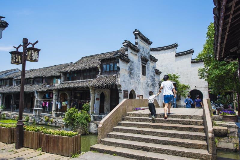 Zhejiang Huzhou Nanxun stad arkivfoton