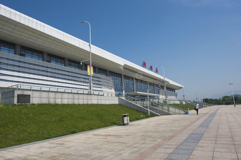 Zhejiang Huzhou Railway Station royalty free stock photos