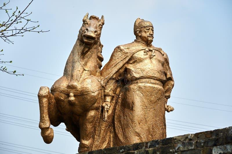 Zheng hij standbeeld stock fotografie
