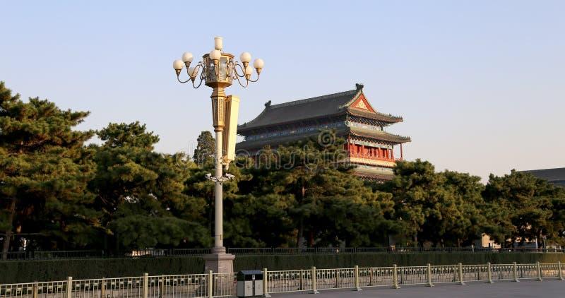 Download Zhengyangmen Brama (Qianmen) Porcelana Beijing Obraz Stock - Obraz złożonej z przeznacza, brama: 41953001
