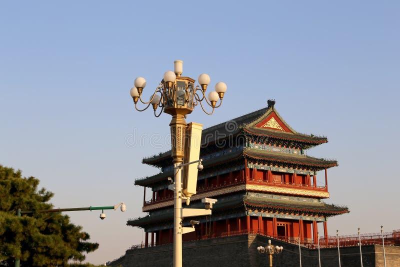 Download Zhengyangmen Brama (Qianmen) Porcelana Beijing Obraz Stock - Obraz złożonej z etnocentryzm, zmieszczaniały: 41953005