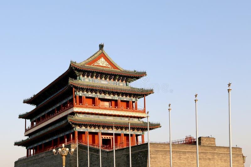 Download Zhengyangmen Brama (Qianmen) Porcelana Beijing Zdjęcie Stock - Obraz złożonej z wejście, horyzontalny: 41953010