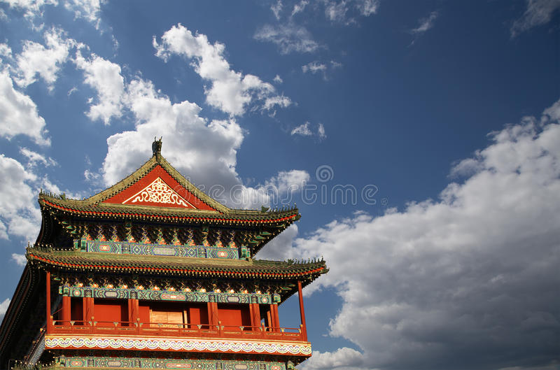Download Zhengyangmen Brama (Qianmen) Porcelana Beijing Obraz Stock - Obraz złożonej z powierzchowność, zmieszczaniały: 41953023