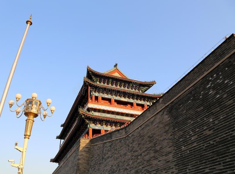 Download Zhengyangmen Brama (Qianmen) Porcelana Beijing Zdjęcie Stock - Obraz złożonej z chiny, militate: 41953136