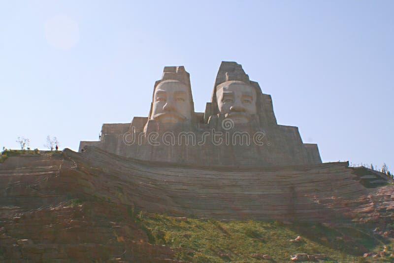 Zhengzhou het Gele Rivier Toneelgebied royalty-vrije stock foto's