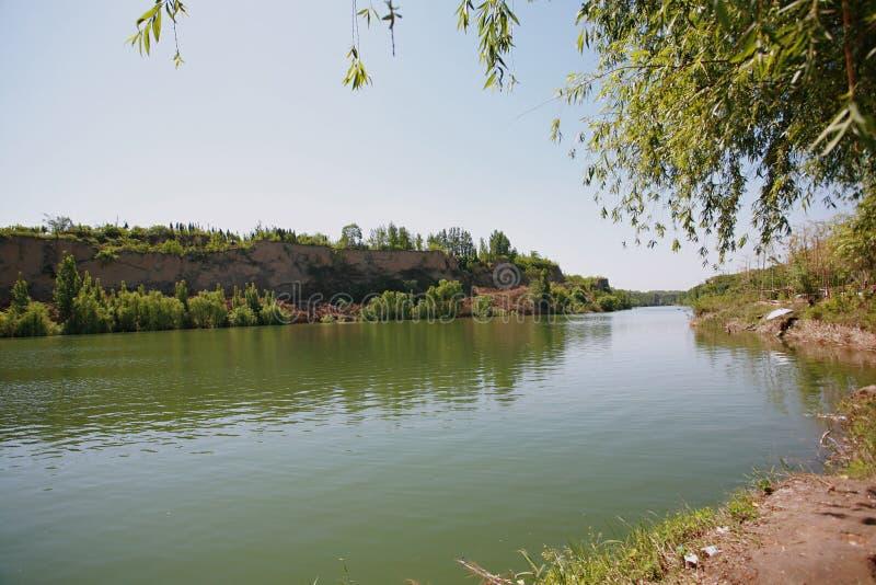 Zhengzhou Jian Gang behållare royaltyfria foton