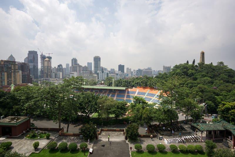 从zhenhai塔的看法 库存图片