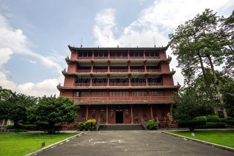Zhenhai tower stock photo