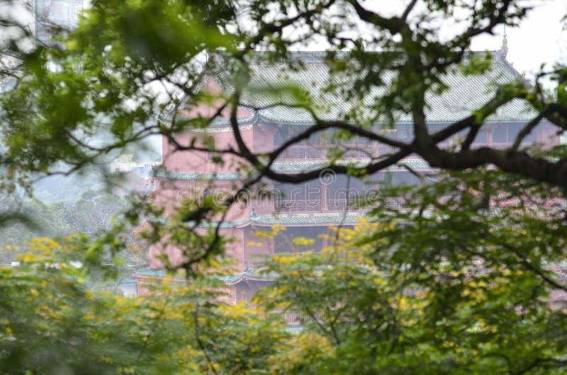 Zhenhai Tower royalty free stock image