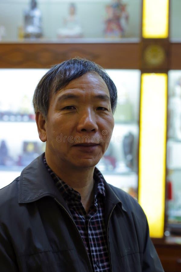 Zhenhui do Sr. huang imagem de stock royalty free