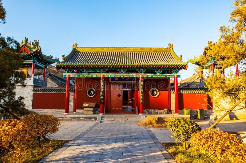 Zhenwutempel van de stad van Tai-Yuan stock foto