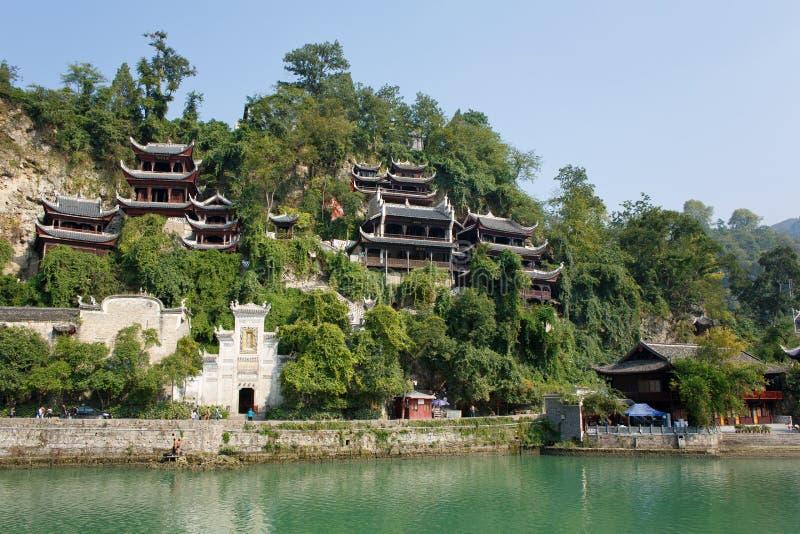 Zhenyuan Antyczny miasteczko w Guizhou Chiny obraz stock