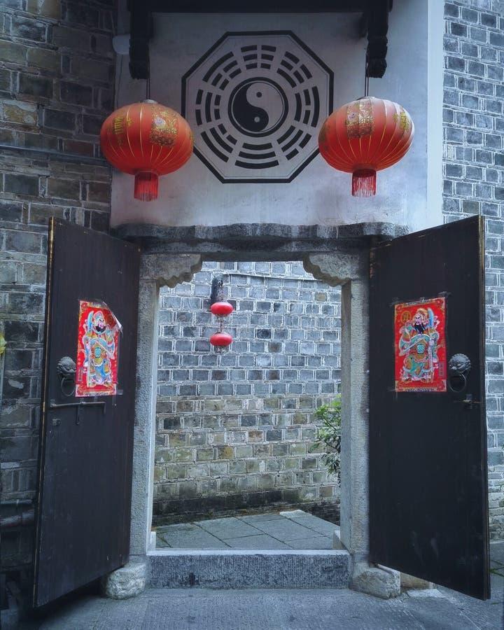 Zhenyuan, città antica cinese 2 immagine stock libera da diritti