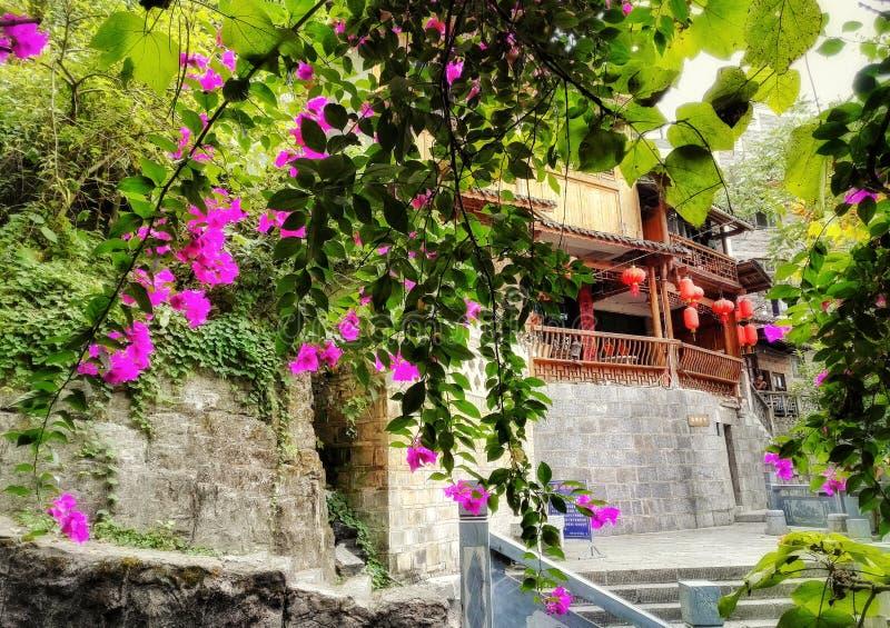 Zhenyuan, città antica cinese 4 fotografie stock libere da diritti