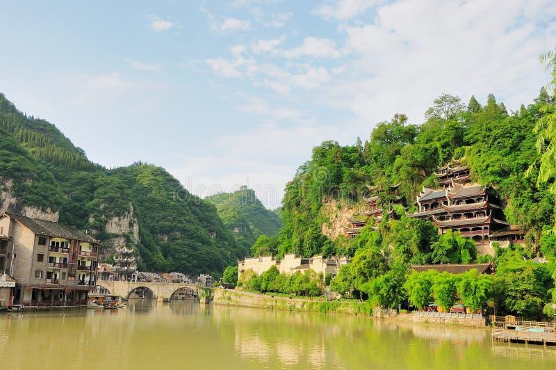 Zhenyuan - Guizhou China royalty-vrije stock foto's