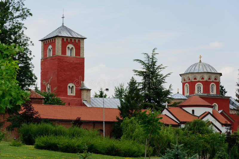Zhicha修道院 库存照片