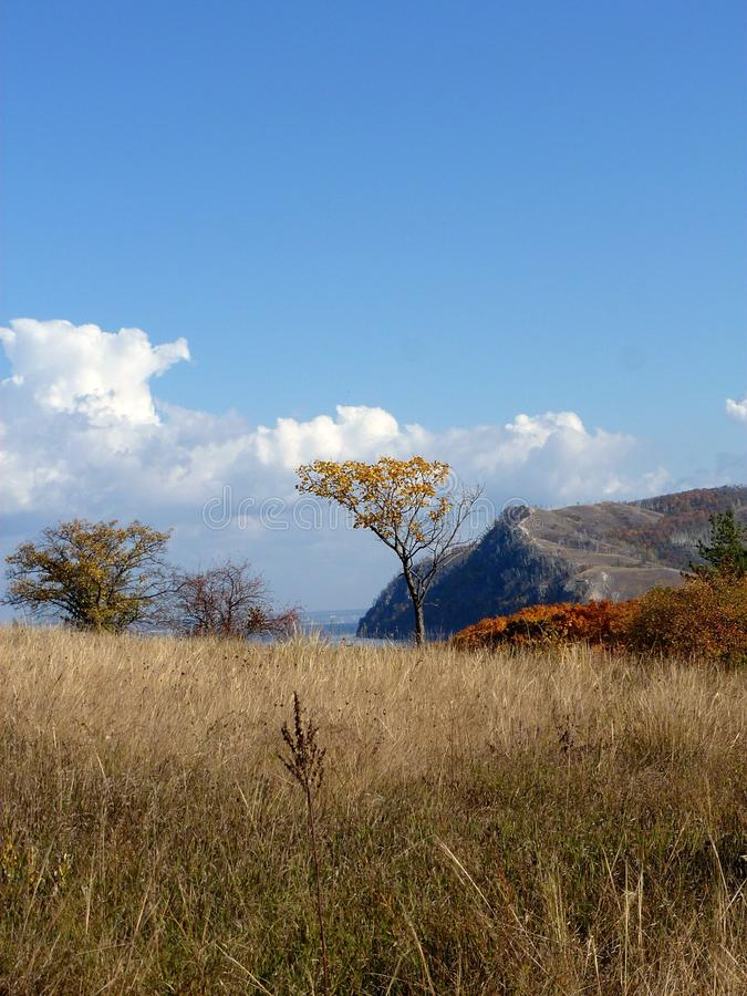 Zhiguli berg (Molodetsky Kurgan) royaltyfria foton
