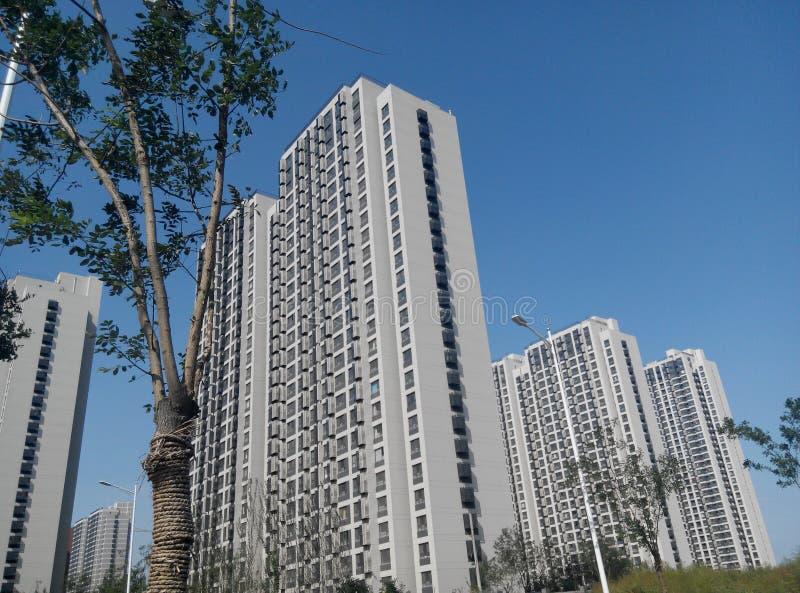 ZhongGuoJianZhu (chinesische Architektur) stockbild