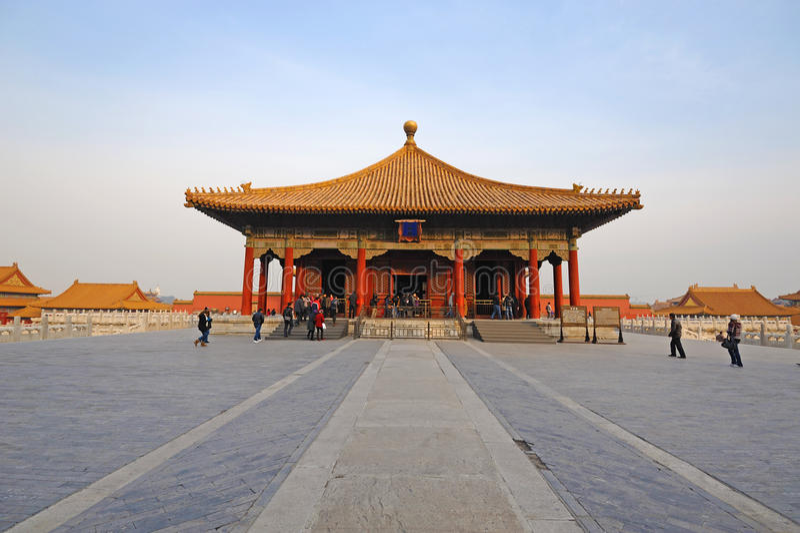 Download Zhonghedian,The Forbidden City (Gu Gong) Editorial Stock Photo - Image: 22346638